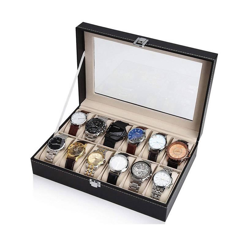 Custom Personalized Luxury Leather Watch Winder Box