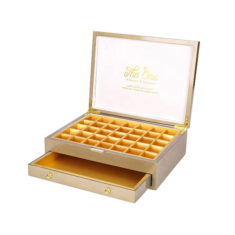 Best Luxury Chocolate Wooden Box For Sale
