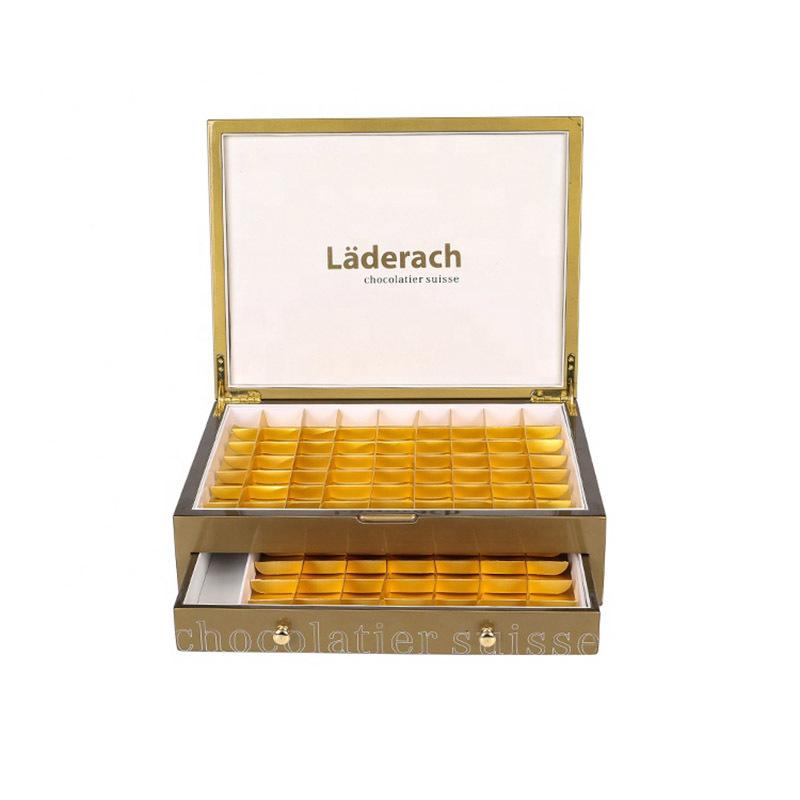 Custom Chocolate Wooden Storage Box Supplier
