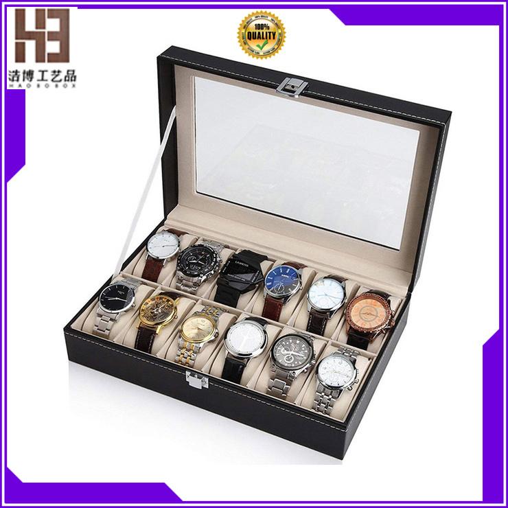 Latest personalized watch box supply