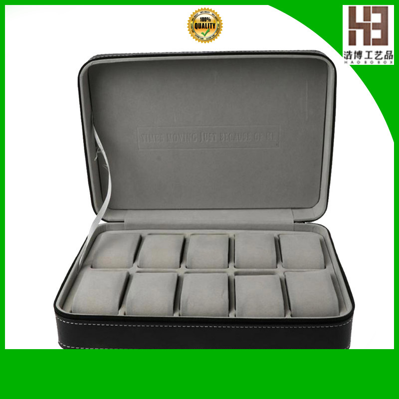 High-quality wooden watch storage box company