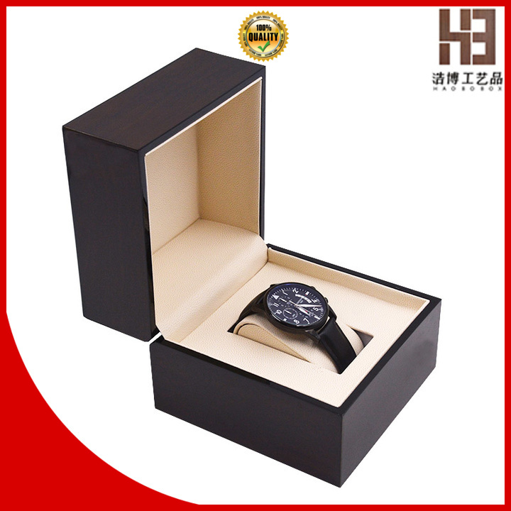High-quality wooden watch box factory