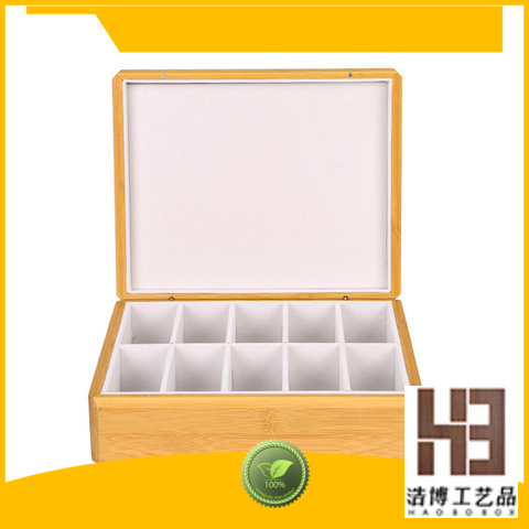 High-quality chinese tea box factory