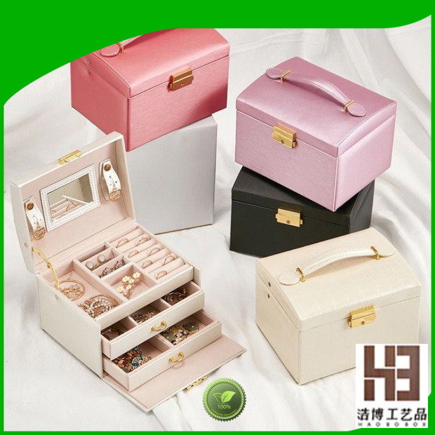 High-quality empty jewelry boxes supply