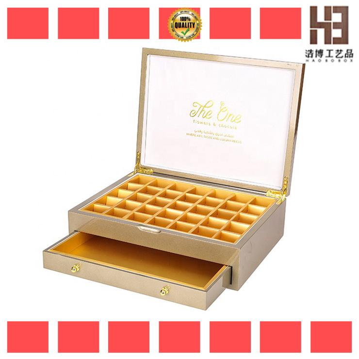 High-quality white chocolate box factory