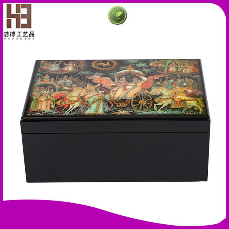 New tea box factory