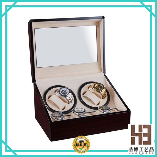 Latest luxury wooden watch box company