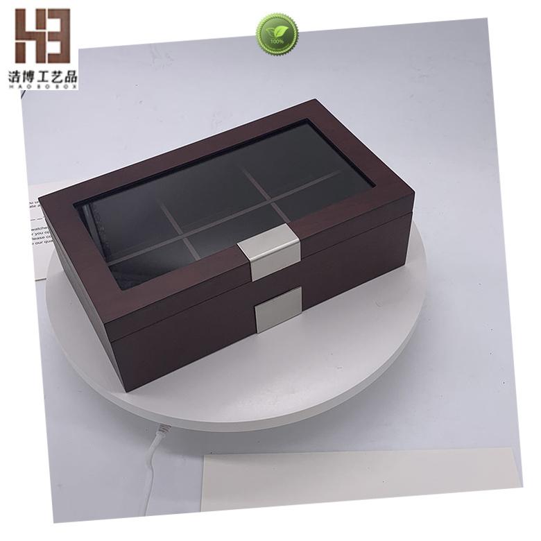 Top wooden tea box company