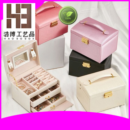 Latest necklace jewelry box factory