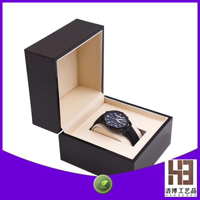 Latest black watch box company