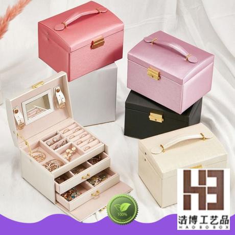 High-quality big jewelry box factory
