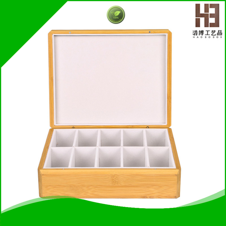 New handmade tea box supply
