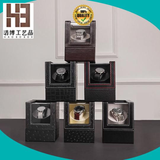 High-quality handmade wood watch box company