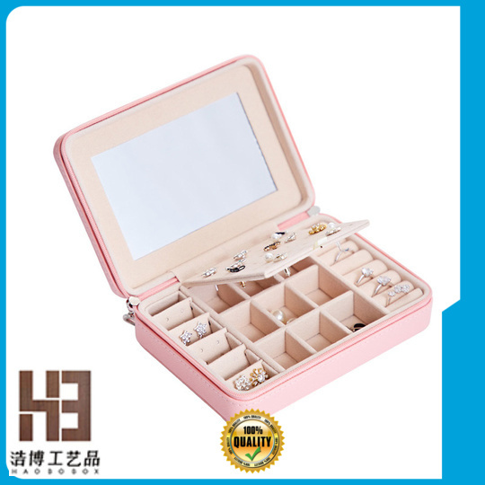 New jewelry box with drawers factory