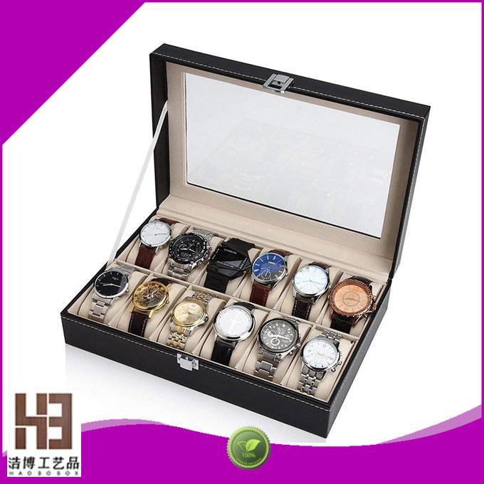 handmade wood watch box company