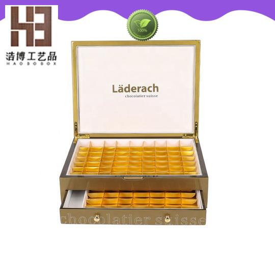 wooden chocolate box company